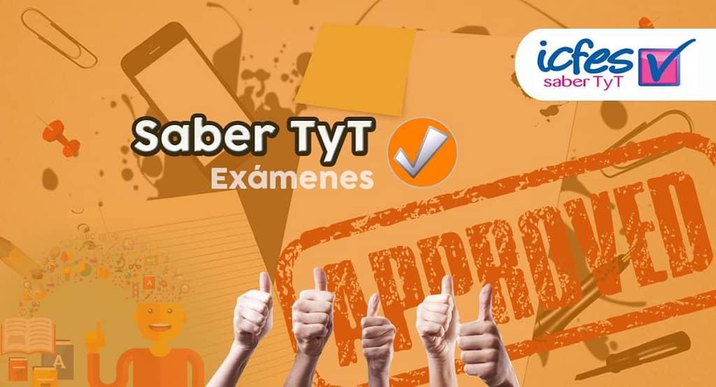 Simulacro pruebas TyT gratis | Examen PDF y online